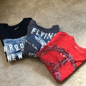 Gap shirt bundle Sz M